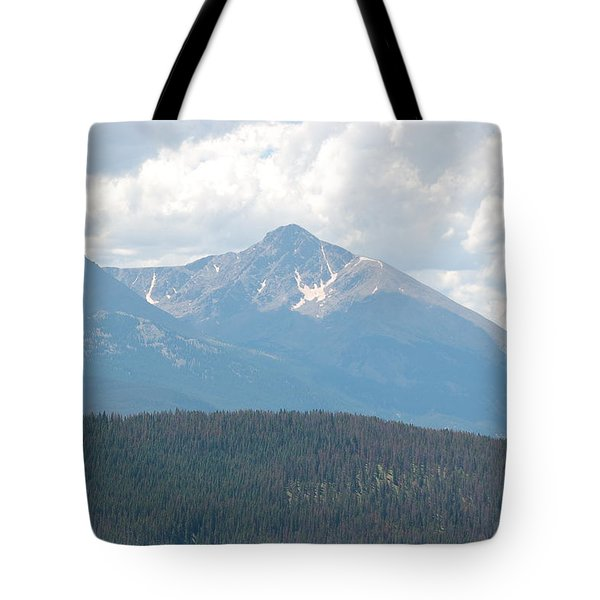Rocky Mountain High Tote Bag by Randy J Heath