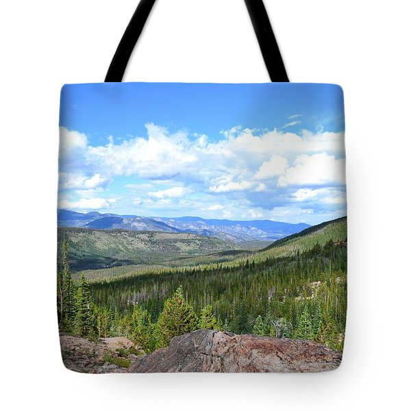 Tote Bag featuring the photograph Rocky Mountain National Park2 by Zawhaus Photography