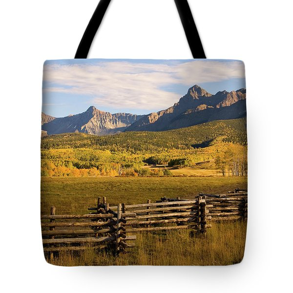 Rocky Mountain Ranch Tote Bag