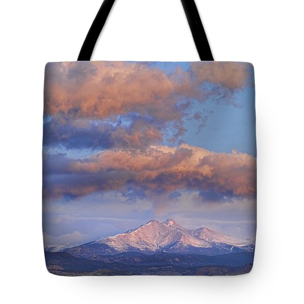Rocky Mountain Sunrise Tote Bag by James BO  Insogna