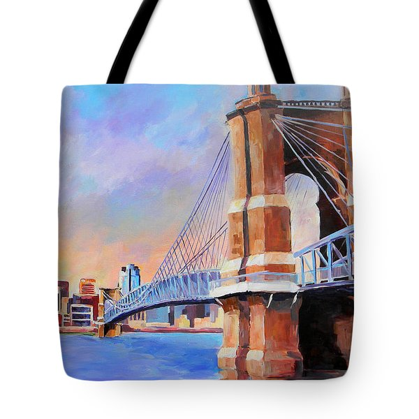 Roebling Twilight Tote Bag