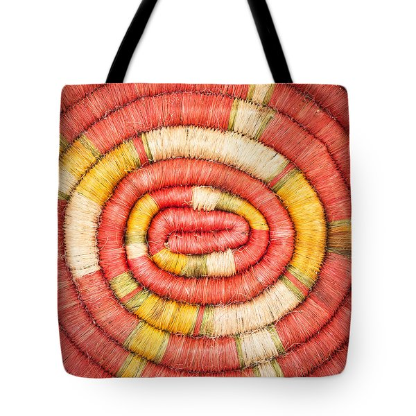 Rolled Fabric Tote Bag by Tom Gowanlock