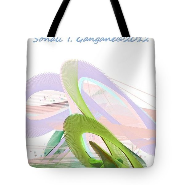 Roller Coaster Tote Bag by Sonali Gangane