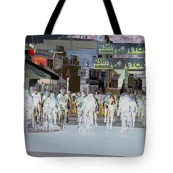 Tote Bag featuring the photograph Rolling Down Bullard Street by Vicki Pelham