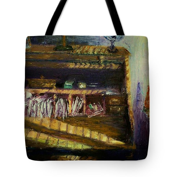 Rolltop Tote Bag by Stephen King