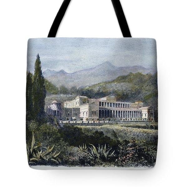Roman Villa Tote Bag by Granger