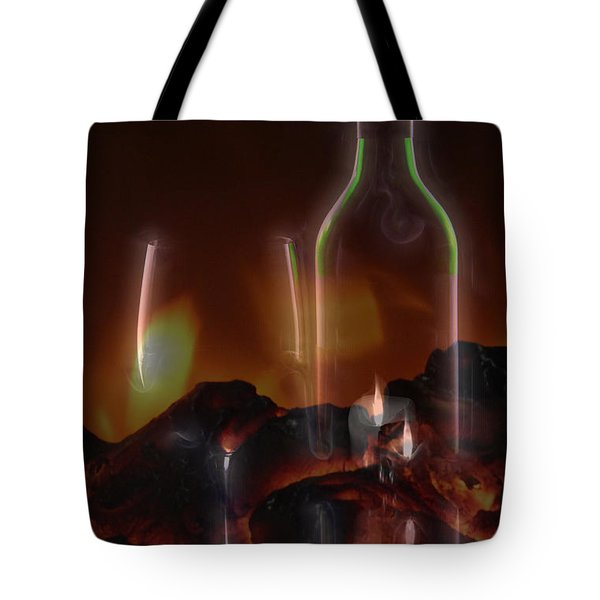 Tote Bag featuring the photograph Romance by Ericamaxine Price