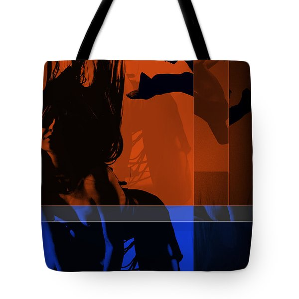 Romance Tote Bag by Naxart Studio