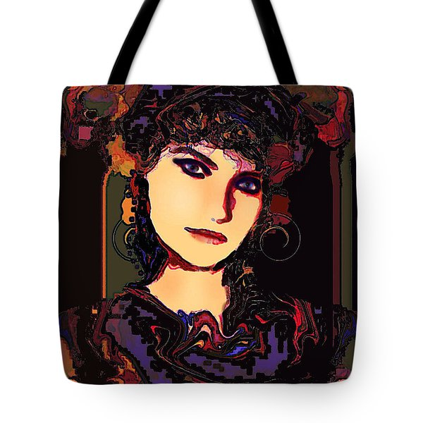 Romantic Lady Tote Bag by Natalie Holland