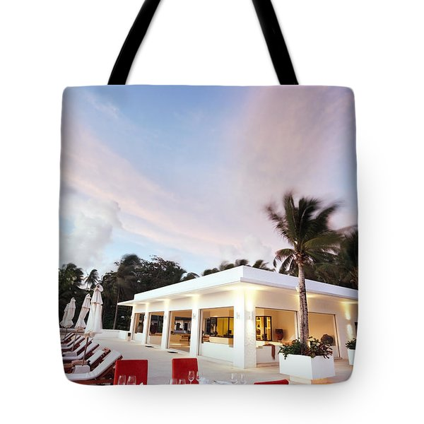 Romantic Place Tote Bag by Setsiri Silapasuwanchai
