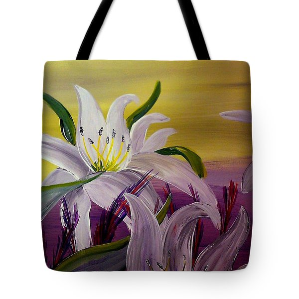 Romantic Spring Tote Bag by Mark Moore