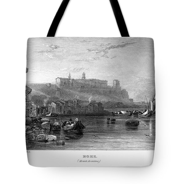 Rome: Aventine Hill, 1833 Tote Bag by Granger
