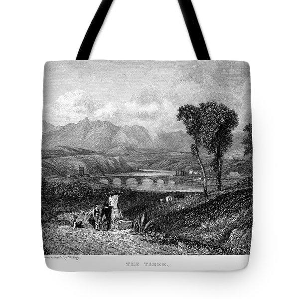 Rome: Milvian Bridge, 1833 Tote Bag by Granger