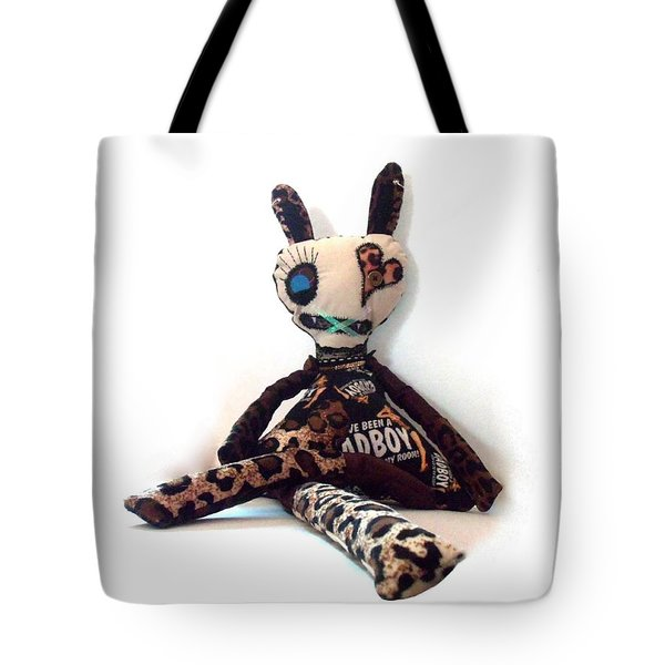 Romy The Stripper Zombie Tote Bag by Oddball Art Co by Lizzy Love