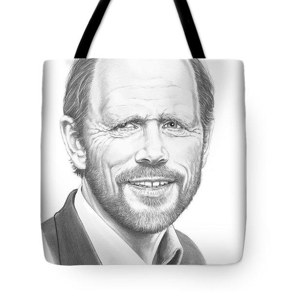 Ron Howard Tote Bag by Murphy Elliott