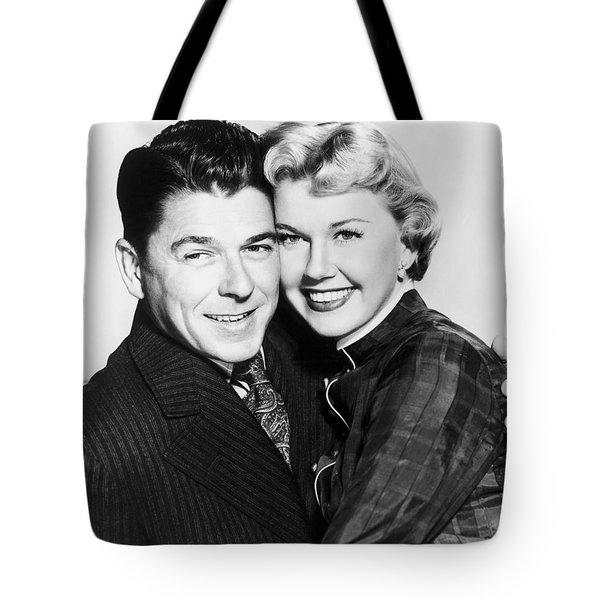 Ronald Reagan (1911-2004) Tote Bag by Granger