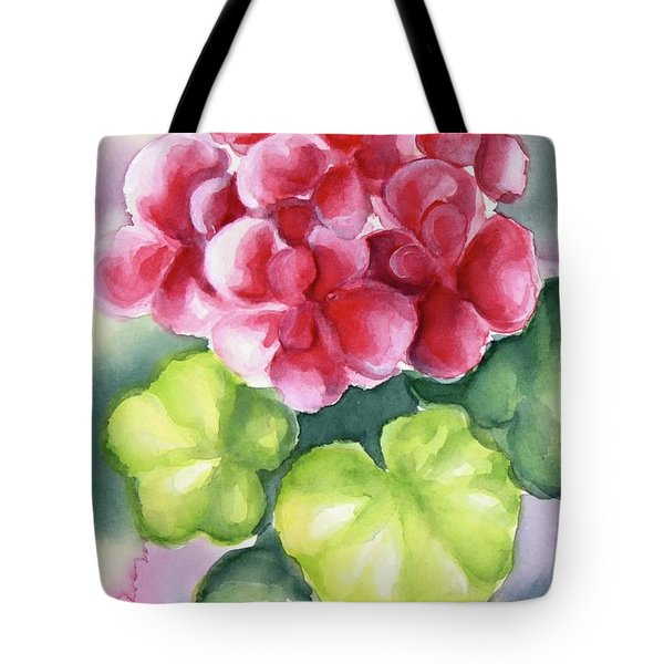 Tote Bag featuring the painting Room Plant by Inese Poga