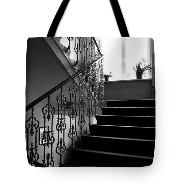 Room With A View Tote Bag by Linda Woods