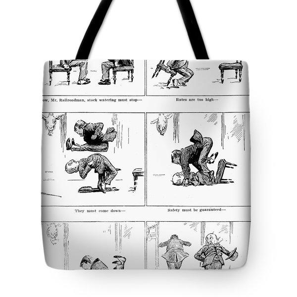 Roosevelt Cartoon, 1905 Tote Bag by Granger