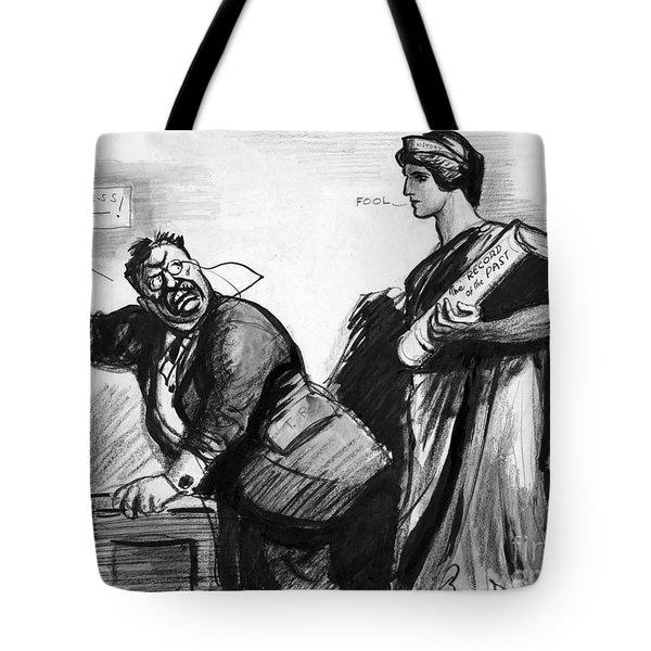 Roosevelt Cartoon, C1916 Tote Bag by Granger