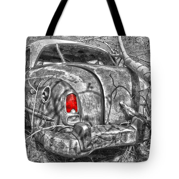 Roots Of A Journey  Tote Bag by Jerry Cordeiro