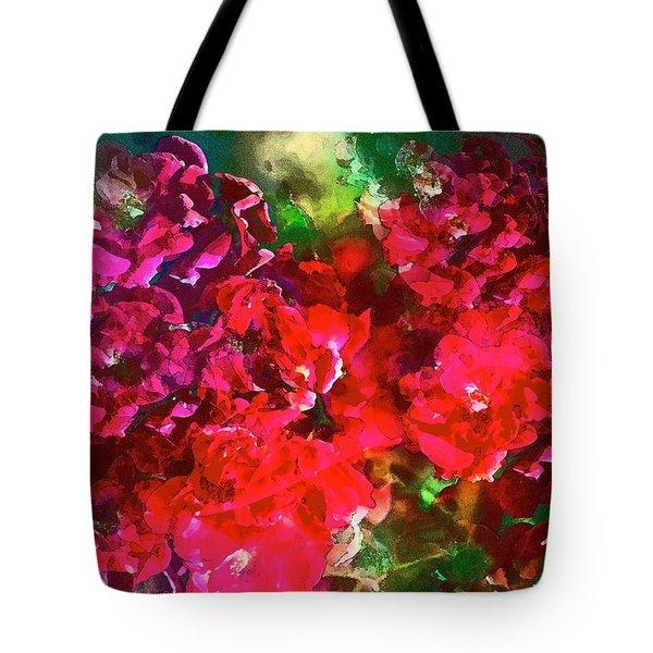 Rose 143 Tote Bag by Pamela Cooper