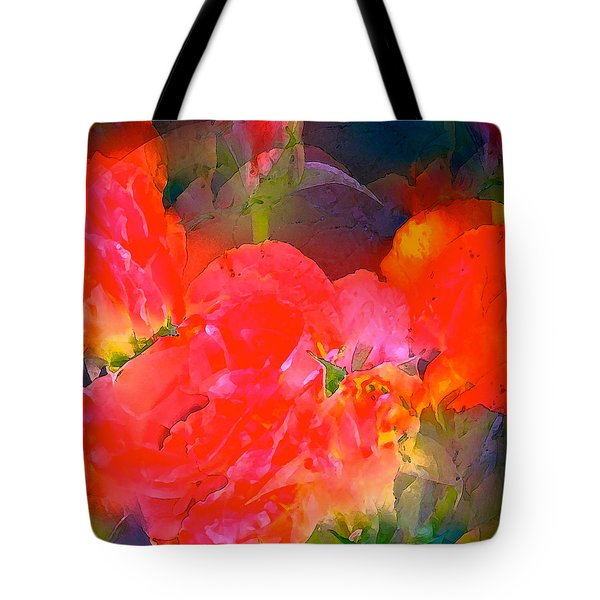 Rose 144 Tote Bag by Pamela Cooper