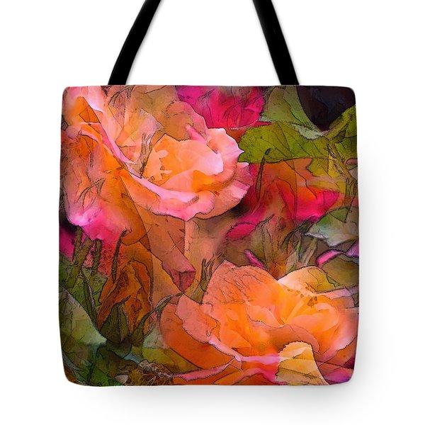 Rose 146 Tote Bag by Pamela Cooper