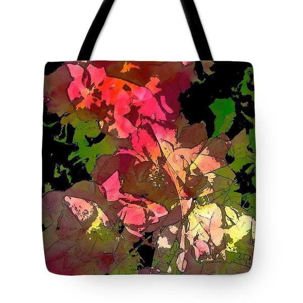 Rose 153 Tote Bag by Pamela Cooper