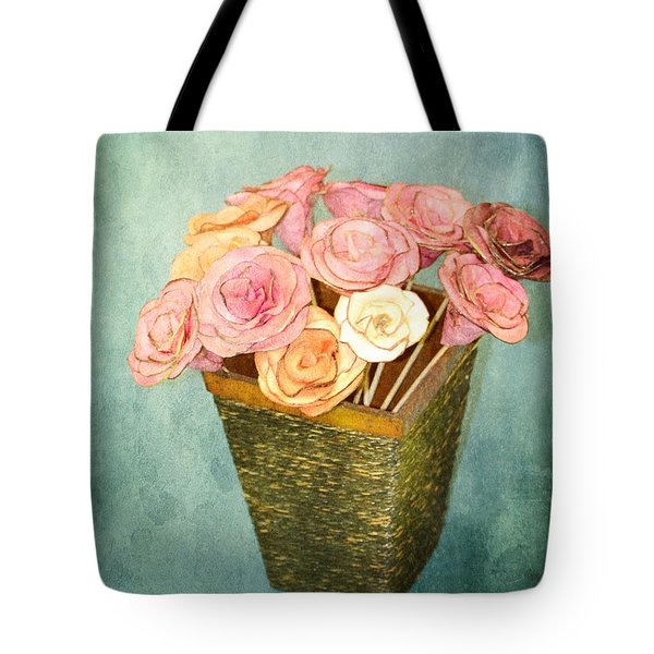 Tote Bag featuring the photograph Rose For You by Traci Cottingham