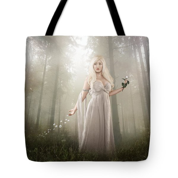 Rose Tote Bag by Mary Hood