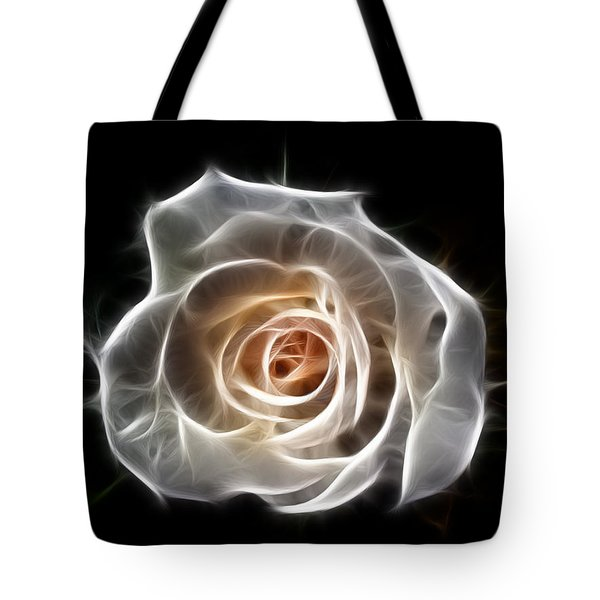 Rose Of Light Tote Bag