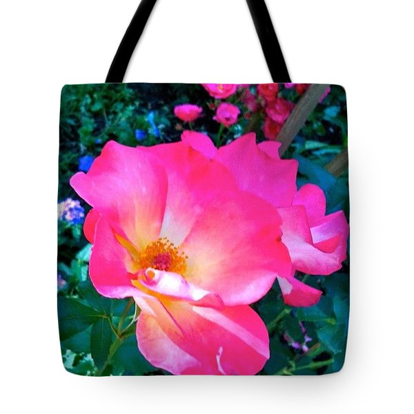Roses From Anna's Gardens Tote Bag