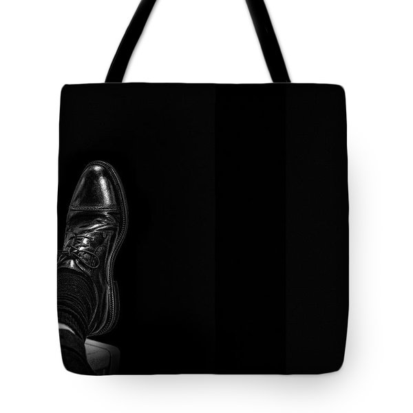 Tote Bag featuring the photograph Rough Day by Tom Gort
