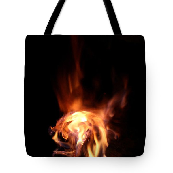 Round Heat Tote Bag by Adam Long
