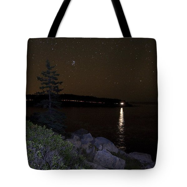 Tote Bag featuring the photograph Rounding Otter Point by Brent L Ander