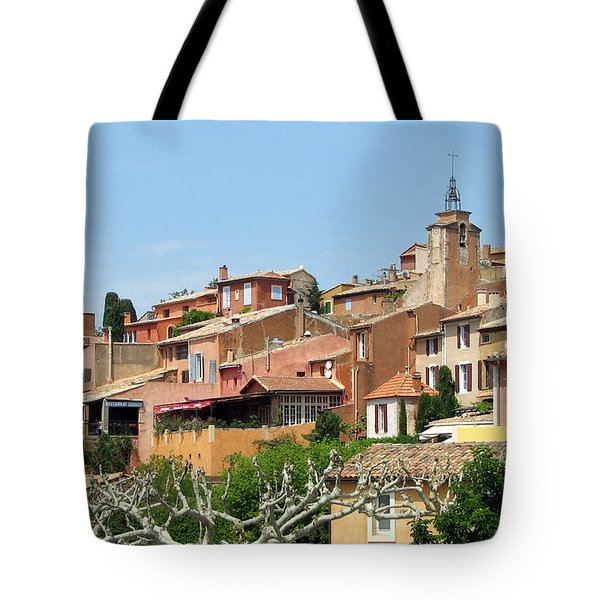 Roussillon In Provence Tote Bag by Carla Parris