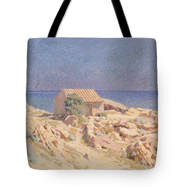 Roussillon Landscape Tote Bag by Georges Daniel de Monfreid