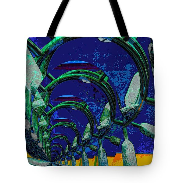 Route 66 2050 Tote Bag by Alec Drake