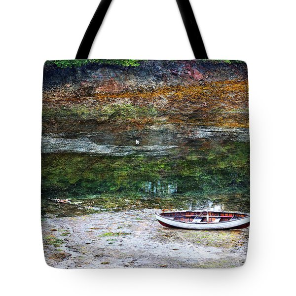 Rowboat In The Slough Tote Bag