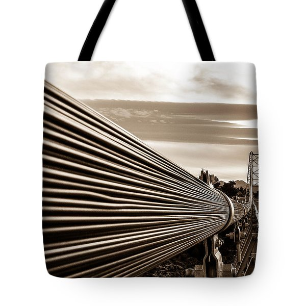 Tote Bag featuring the photograph Royal Gorge Bridge by Shannon Harrington