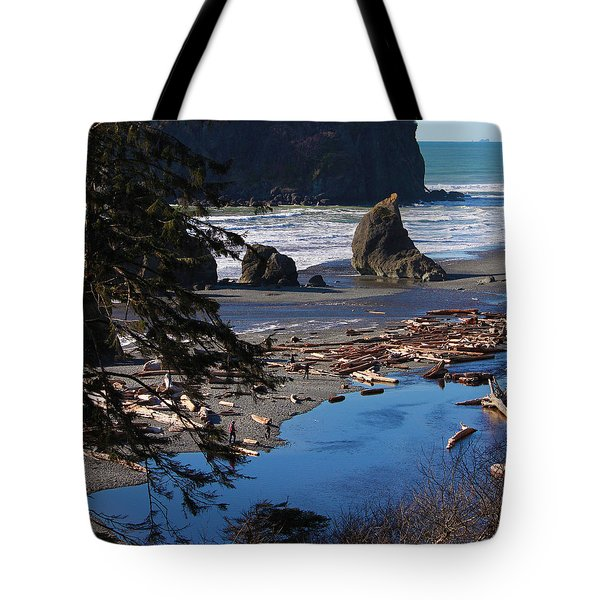 Ruby Beach IIi Tote Bag