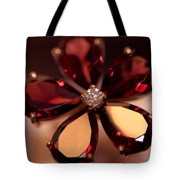 Ruby Ring. Spirit Of Treasure Tote Bag by Jenny Rainbow
