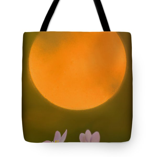 Rue Anemone And The Rising Sun Tote Bag