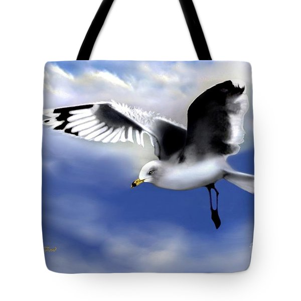 Ruffled Feathers Tote Bag by Dale   Ford