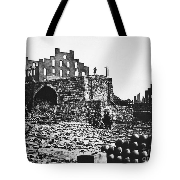 Ruins Tote Bag by Photo Researchers