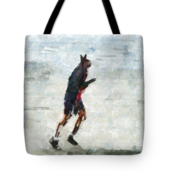 Run Rabbit Run Tote Bag by Steve Taylor