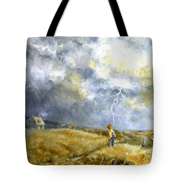 Running Home Tote Bag by Marie Green