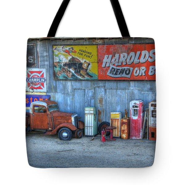 Rural America Tote Bag by Bob Christopher