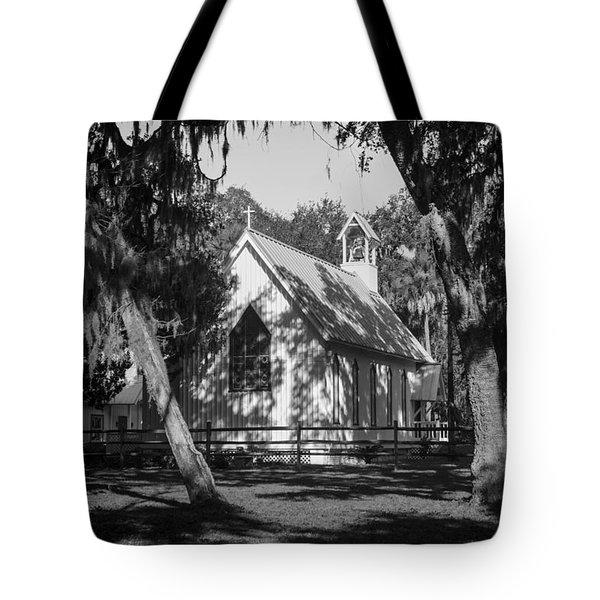 Rural Congregation Tote Bag by Lynn Palmer